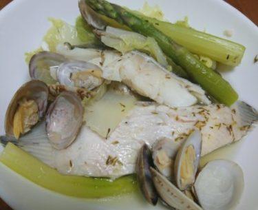 和風アクアパッツァで白菜を美味しく食べる