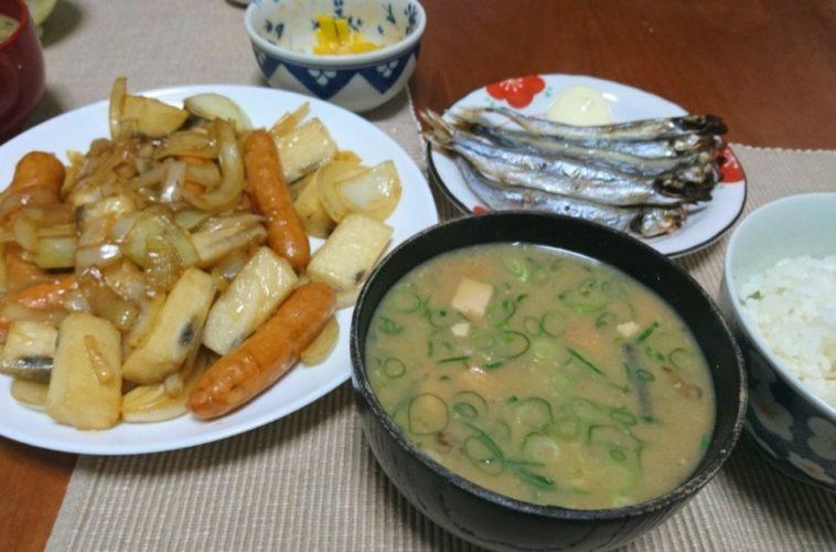 長芋で作る和風ジャーマンポテト