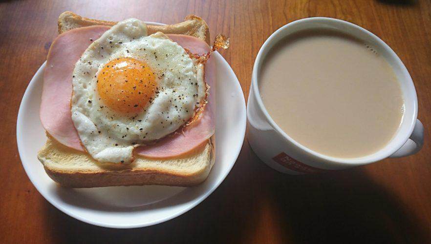 朝食にラピュタパン!半熟でちょうどいい目玉焼きの作り方