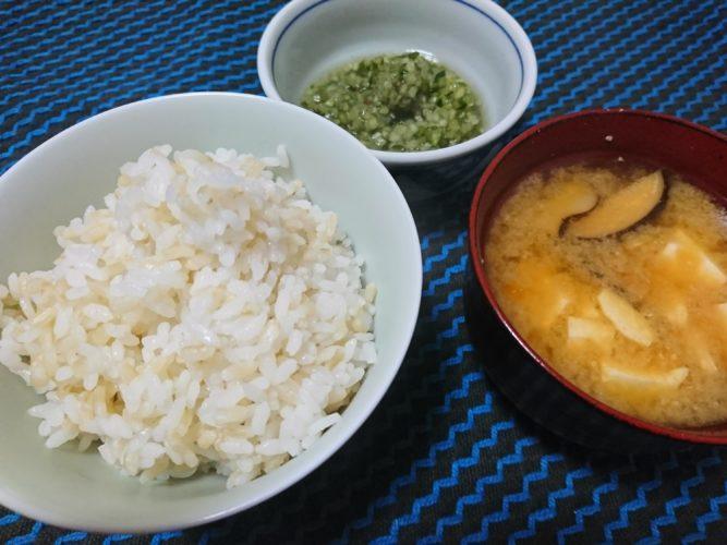 仙台の雪菜おひたしと二度見して買っちゃった本マグロ