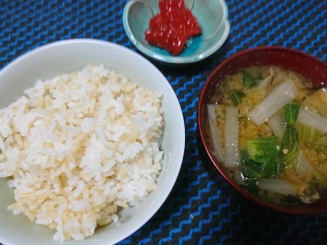 仙台エスパルのお惣菜と筋子でご飯