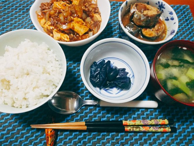 麻婆豆腐は玉ねぎでもうまい
