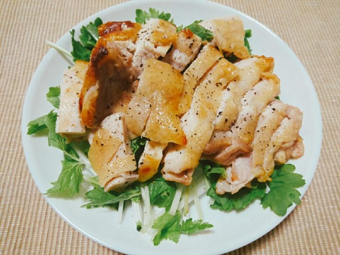 鶏もも肉のグリル