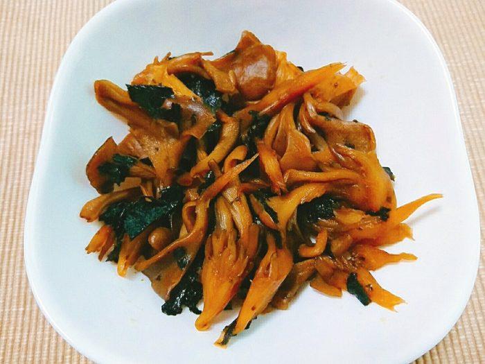 海苔と舞茸の佃煮