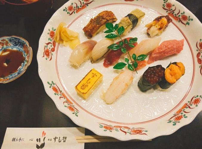 仙台駅S-PAL地下にある寿司の名店、塩竈 すし哲 S-PAL仙台店にいってきた。