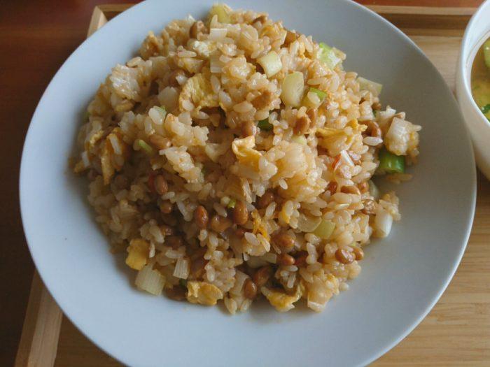 納豆チャーハン2