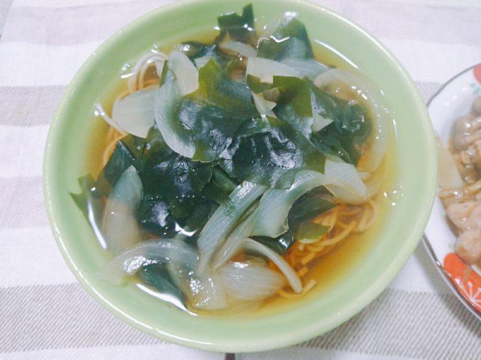 ワカメ温麺