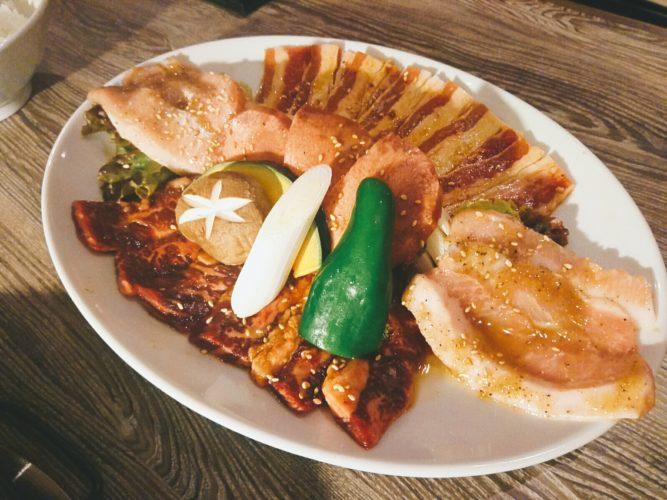 焼肉レストラン ひがしやま ザ・モール仙台長町店でランチ。