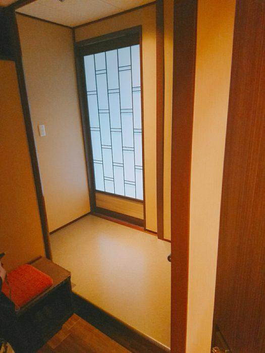 一の坊部屋の入口