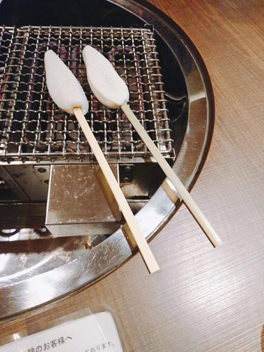 笹かま焼く