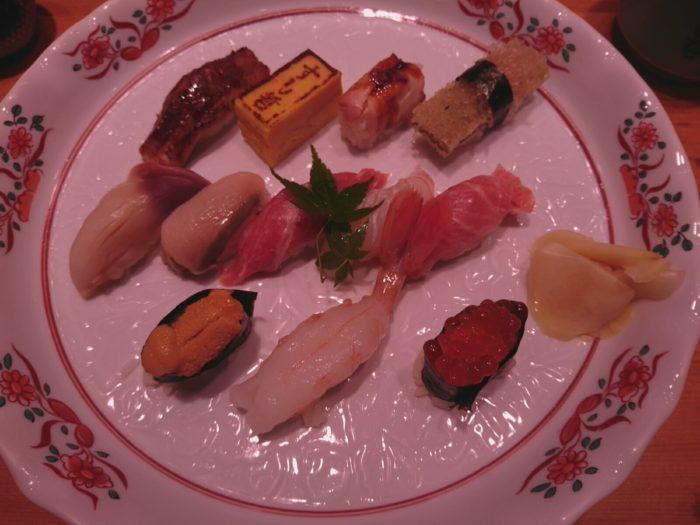 すし哲の寿司
