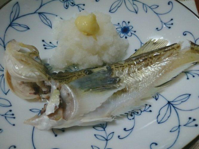 庄内地方の郷土料理、湯あげで食べるハタハタ
