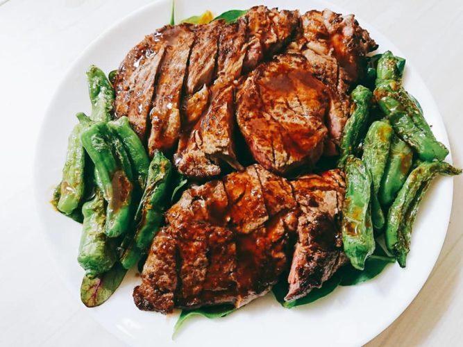いきなりステーキのいきなりソースはうまい!ステーキと仙台風タコわさびで一献