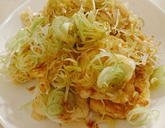 向田邦子のレシピで作ったかみなり豆腐