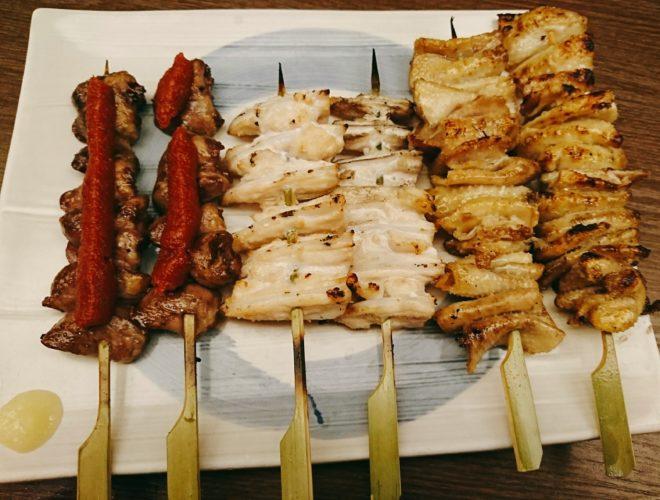 渋谷道玄坂で焼き鳥ハシゴ酒!鳥良と鶏豚きっちん。