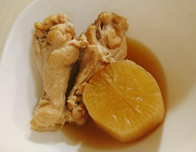 冬の王道!鶏肉と大根の煮物