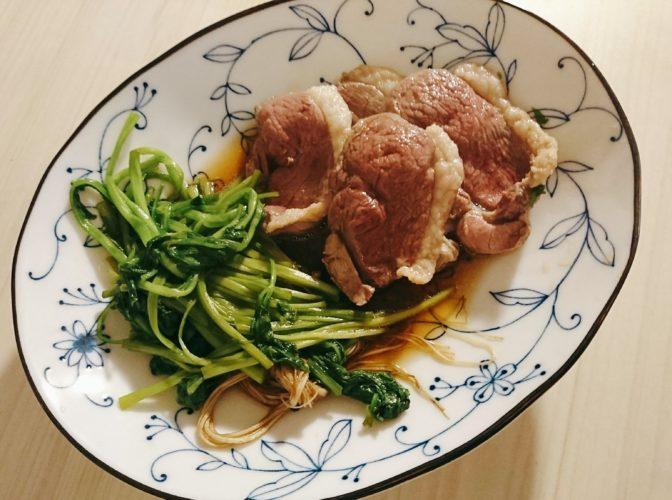 鴨と芹の鍋と雑炊