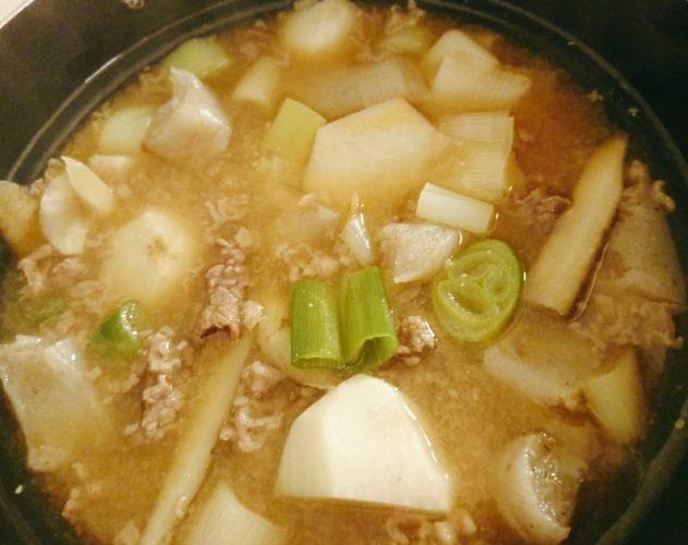 土井善晴さんのレシピで芋煮を作ってみた