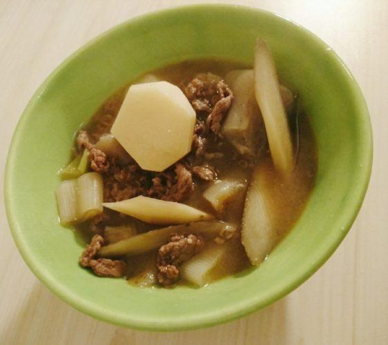 土井善晴レシピ芋煮