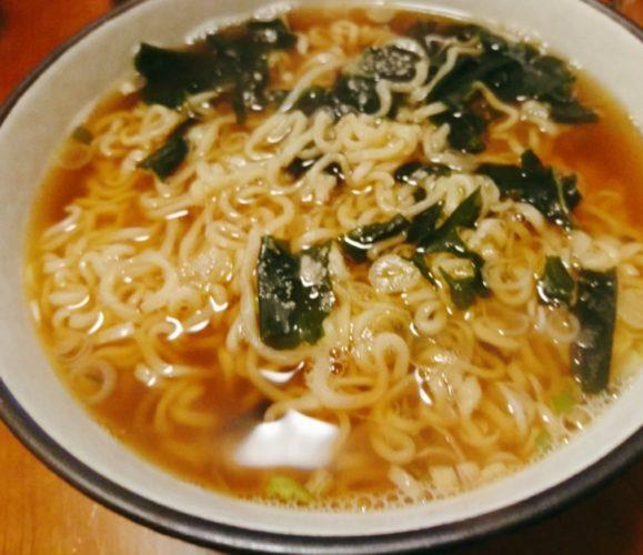 サッポロ一番しょうゆ味煮干しラーメン