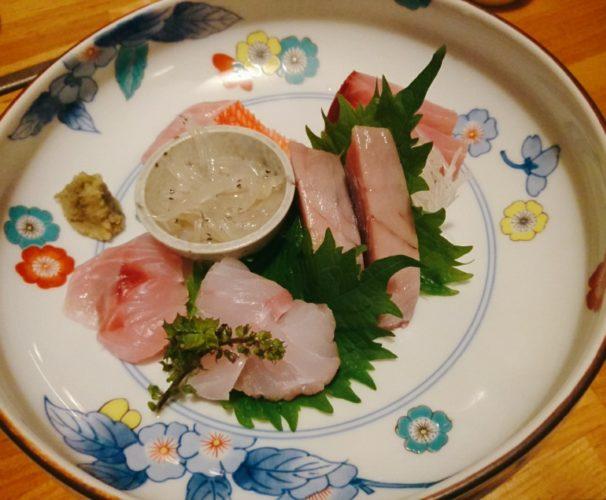 渋谷 佐賀雑穀でうまい魚を食う。