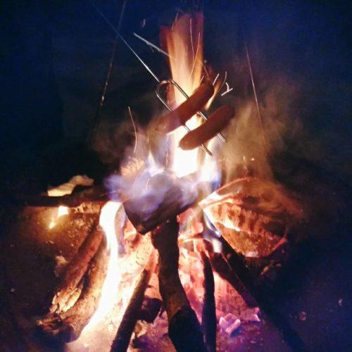PICAさがみ湖で焚火ナイト!そしてコテージキャンプ2日目は高尾山を観光しました