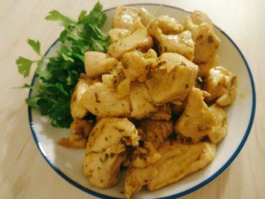 エルブドプロバンスとカレー粉で美味しい鶏むね肉の焼き鳥