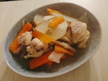 ナンプラーで味付けしたエスニックな煮物