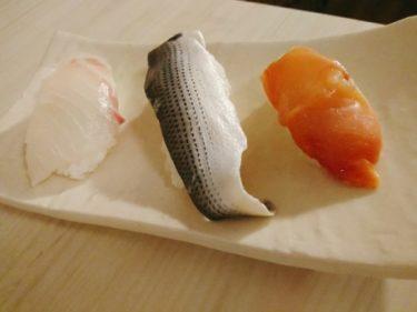 またまた寿司握ってみた!鯛とコハダと赤貝です