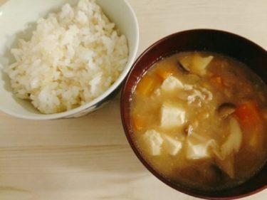 納豆汁と鶏むね肉の八角風味の醬油煮