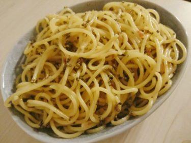 とんぶりの食べ方!シンプルなとんぶりパスタのレシピをご紹介。