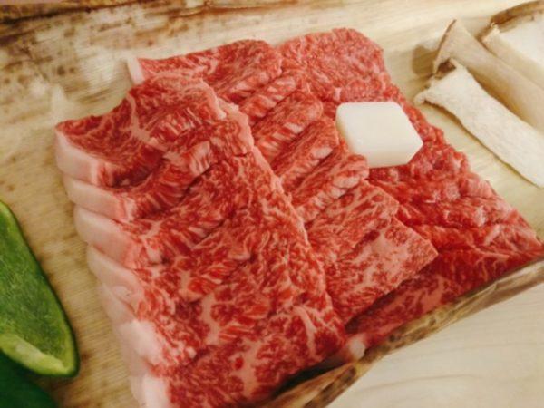 焼肉用宮崎牛