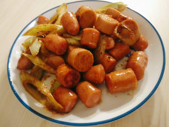 魚肉ソーセージとウインナー