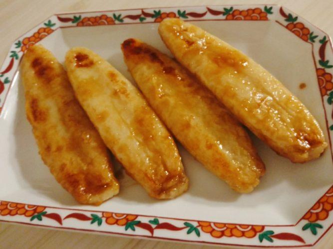 笹かまの生姜焼き