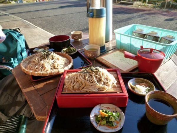 三峯神社の蕎麦