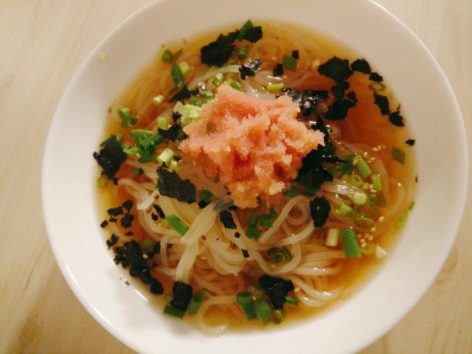 明太子冷麺