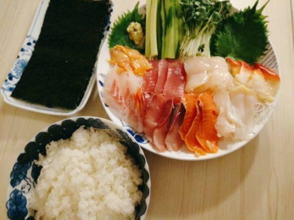 手巻き寿司セット