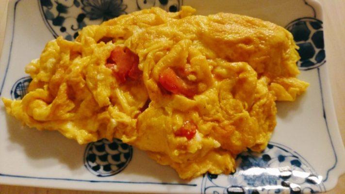 トマトの卵焼き