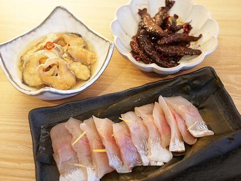 岩魚料理3点セット
