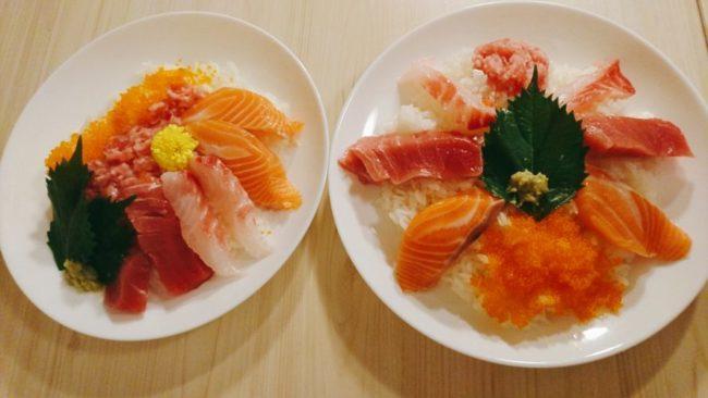 平皿で握らない寿司