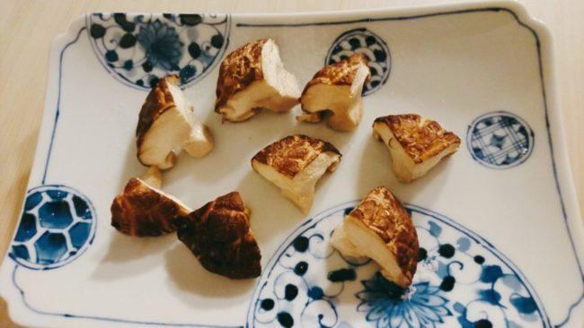 簡単焼き椎茸