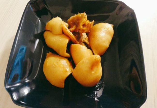 ホヤの味噌漬け焼き