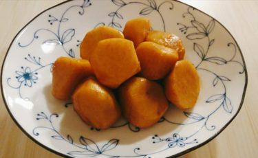 里芋の煮っころがしとホヤの味噌漬け焼き