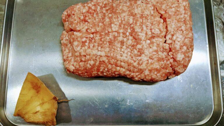 豚ひき肉と生姜