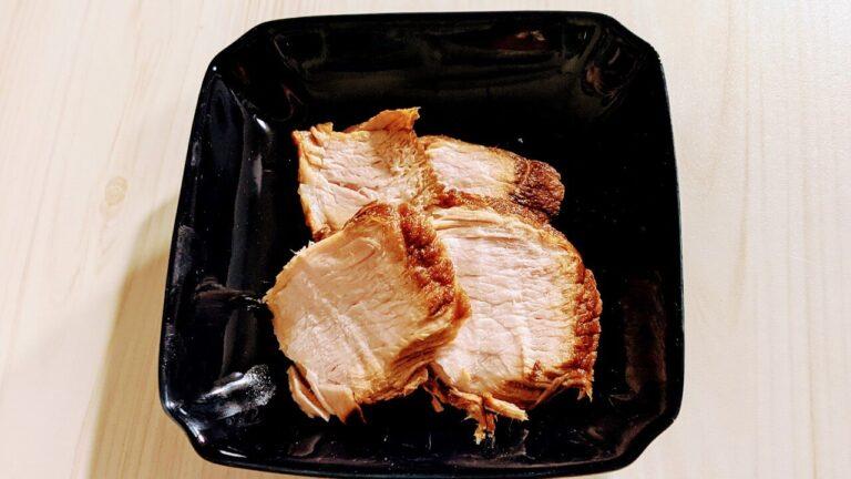 煮豚の味見